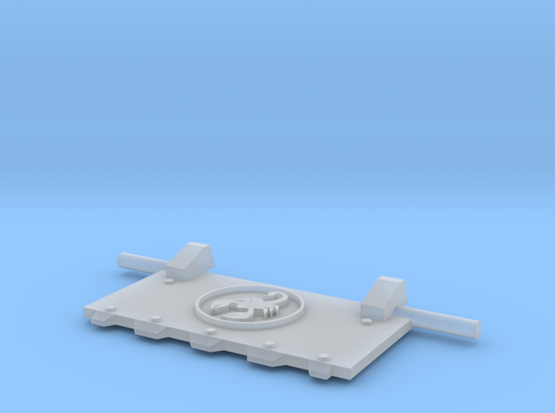 Scorpions God-Hammer Tank front hatch in Smooth Fine Detail Plastic