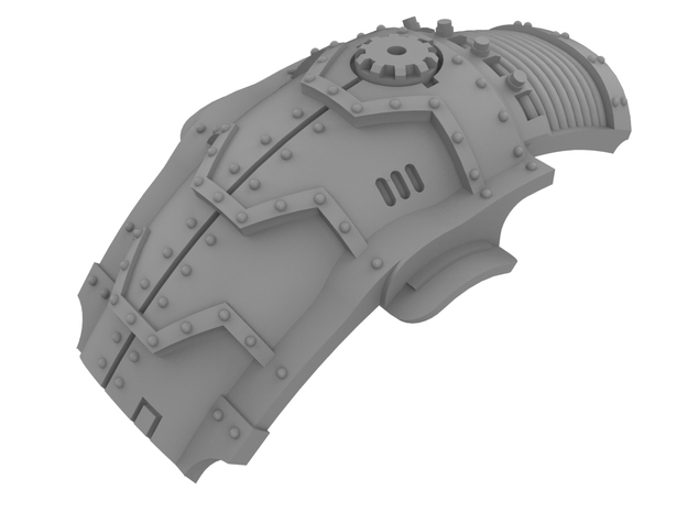 Mini Knight - Armadillo Carapace