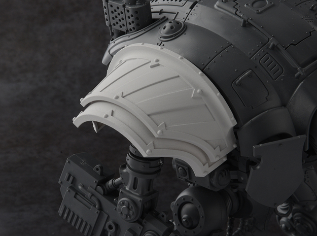 Hazard Warriors - Right Shoulder Pad