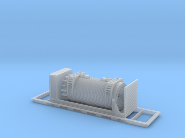 Nuclear Shipping Cask - Nscale in Smooth Fine Detail Plastic