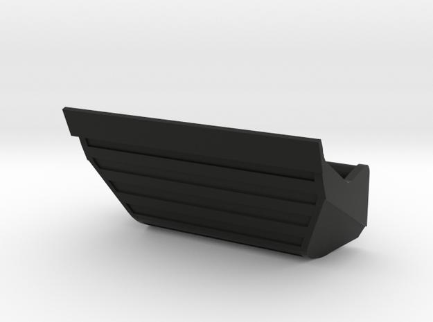 Brede bak Beco voor DKS in Black Natural Versatile Plastic