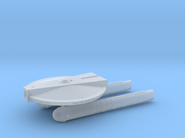 Confederation Perry Class Frigate  in Smooth Fine Detail Plastic