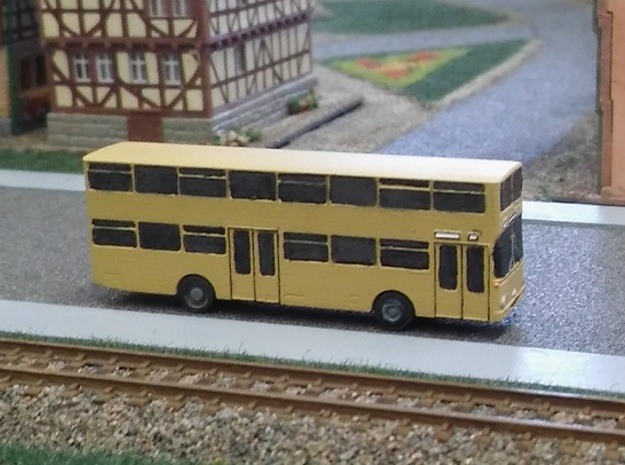 Berliner Doppeldecker (Z, 1:220) in Smooth Fine Detail Plastic