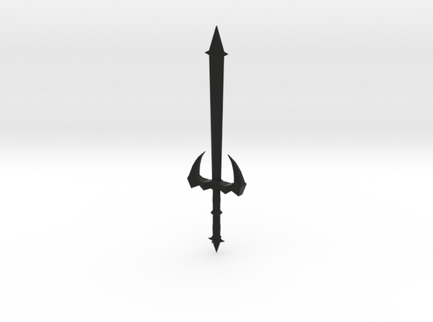 dragon sword in Black Natural Versatile Plastic