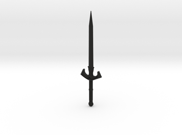 cold sword in Black Natural Versatile Plastic