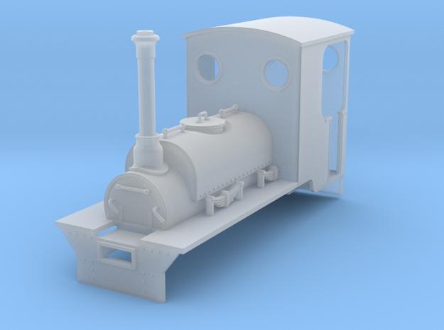 RAR Victoria loco in Smooth Fine Detail Plastic: 1:43.5