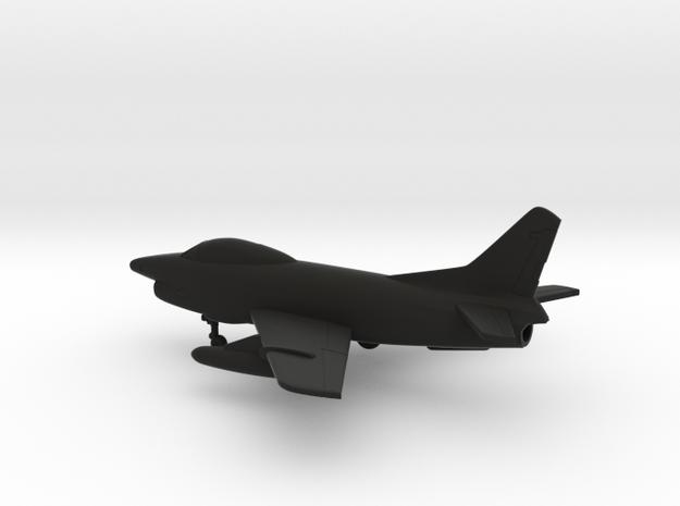 Fiat G.91R/3 in Black Natural Versatile Plastic: 1:160 - N
