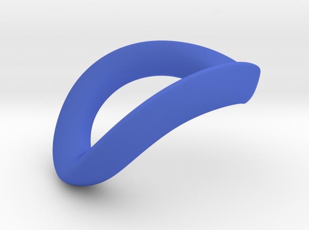JNada CRing 47.5mm in Blue Processed Versatile Plastic