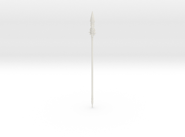 spear 2 in White Natural Versatile Plastic