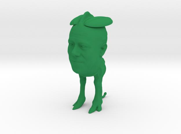 Alien in Green Processed Versatile Plastic
