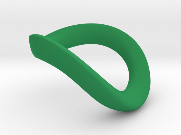 JNada CRing 50mm in Green Processed Versatile Plastic