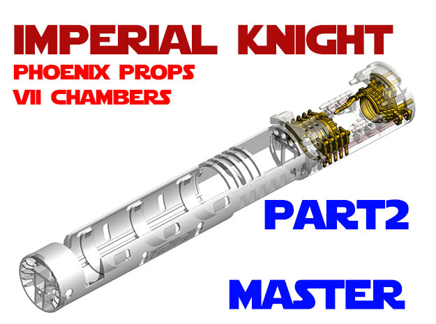 Imperial Knight - Master Part2 in White Natural Versatile Plastic