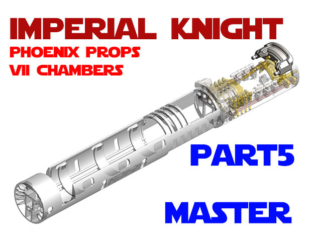 Imperial Knight - Master Part5 in White Natural Versatile Plastic