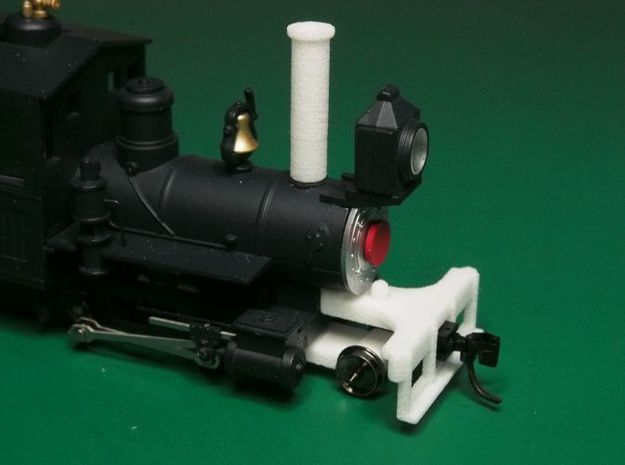 Parts to convert F&C loco to 2-4-0 [set A] 3d printed The white bits are what you get
