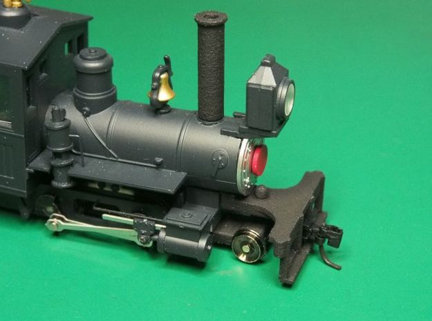 Parts to convert F&C loco to 2-4-0 [set A] 3d printed Painted and fitted to the loco