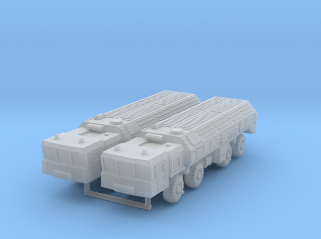 SS-26 Stone_closed in Smooth Fine Detail Plastic: 6mm