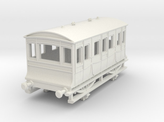 o-148-kesr-royal-saloon-coach-1 in White Natural Versatile Plastic