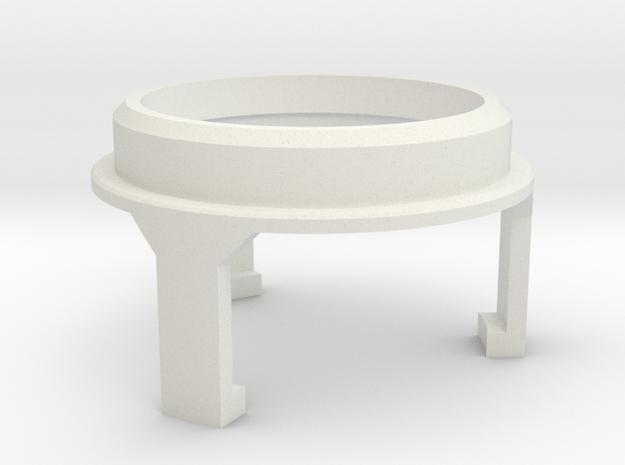 Basic Chassis - Part 4/6 V1 SpeakerHolder Top Veco in White Natural Versatile Plastic