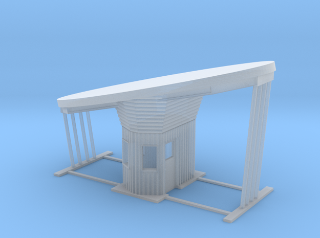 'N Scale' - Outdoor Drive-thru Ticket Booth