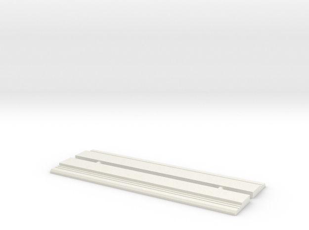 Running boards in White Natural Versatile Plastic