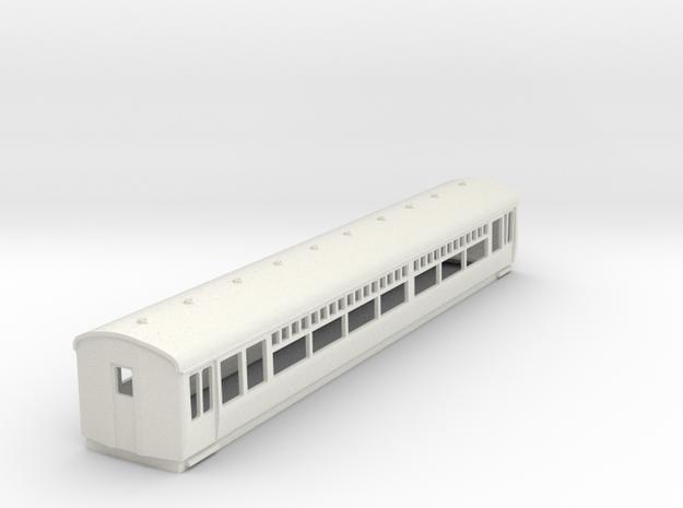 o-100-lner-trailer-3rd-coach in White Natural Versatile Plastic