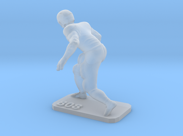 Defensive End  in Smooth Fine Detail Plastic