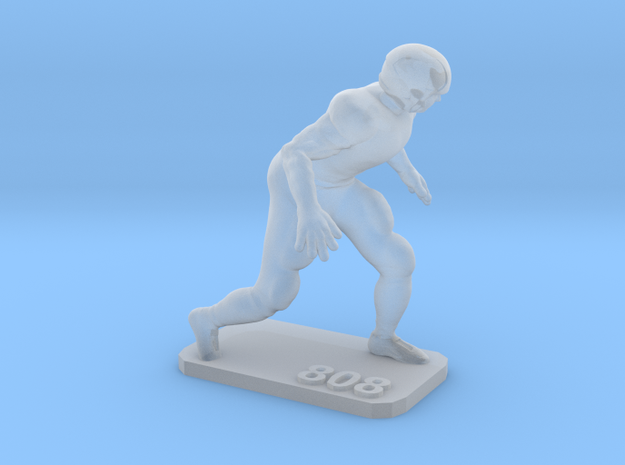 Defensive End 2 in Smooth Fine Detail Plastic