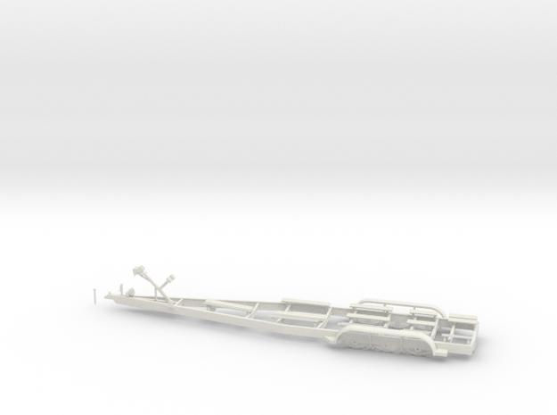 1/32 MYCO boat trailer in White Natural Versatile Plastic