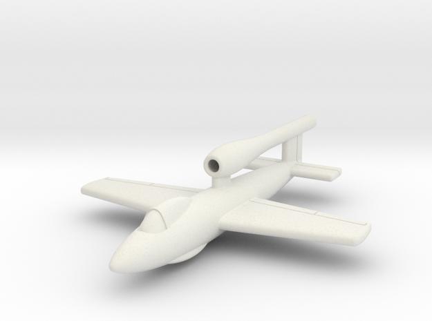 """(1:144) Junkers Ju EF126 """"Elli"""" (midfuselage wing) in White Natural Versatile Plastic"""