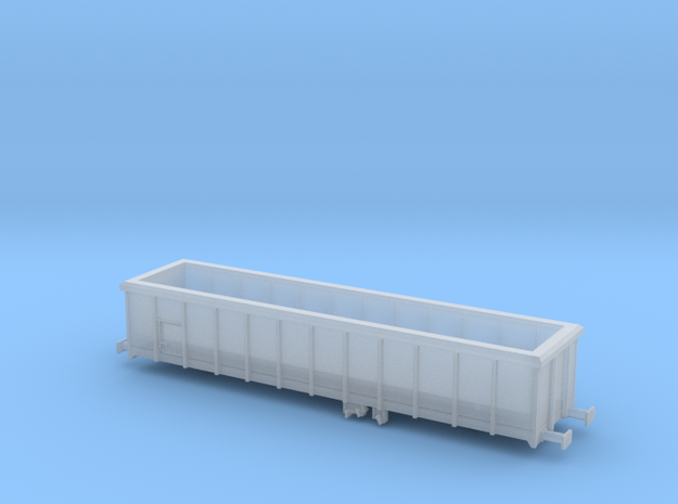 PKP wagon 401Wj (Eaos-w) Z scale (skala Z) in Smoothest Fine Detail Plastic