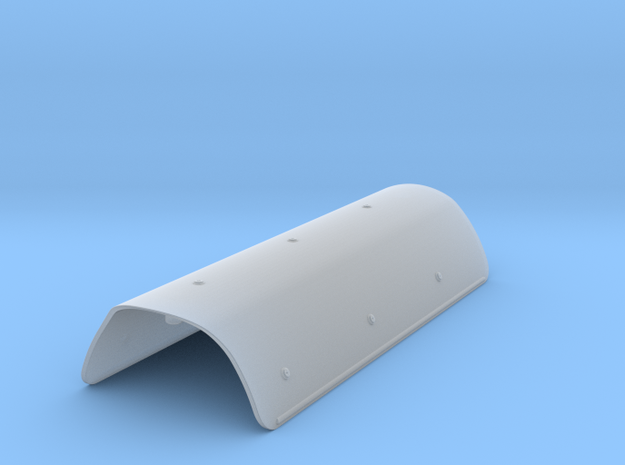 1:7.6 Ecureuil AS 350 / exhaust deflector in Smooth Fine Detail Plastic