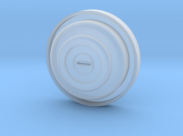 1:7.6 Ecureuil AS350 / fuel cap in Smooth Fine Detail Plastic