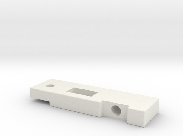 AK_TDC in White Natural Versatile Plastic