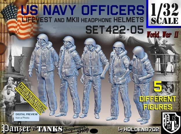 1/32 USN Officers Kapok Set422-05