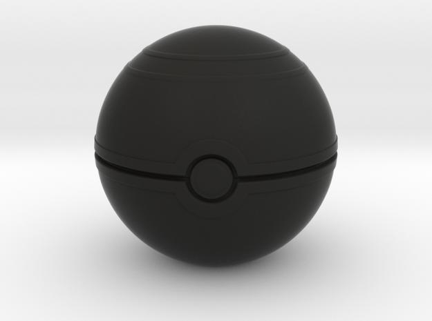 "Pokemon Luxury Ball 2"" desk decoration in Black Natural Versatile Plastic"
