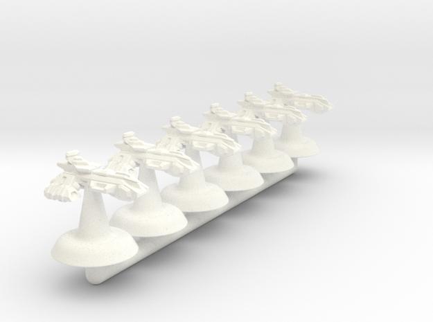 Themis Class Light Cruiser - 1:20000 in White Processed Versatile Plastic