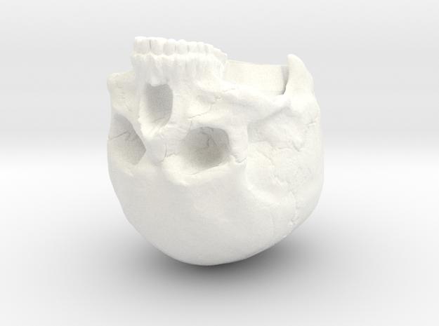 SL01-Head-01b in White Processed Versatile Plastic