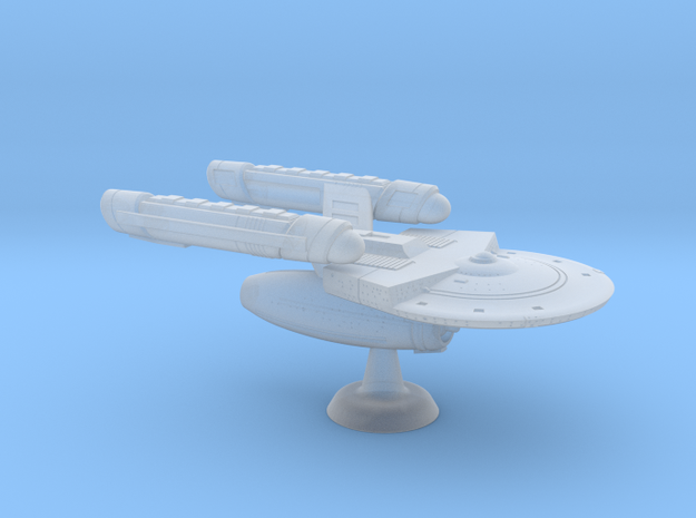 Terran Contender Class Troop Cruiser - 1:7000 in Smooth Fine Detail Plastic