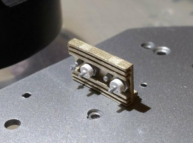Eaglemoss delorean 1:8 rectifier heatsinks in Smooth Fine Detail Plastic