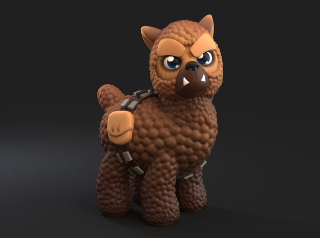 Chewpacca in Full Color Sandstone