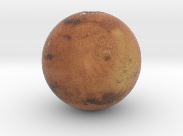 Mars 1:250 million in Full Color Sandstone