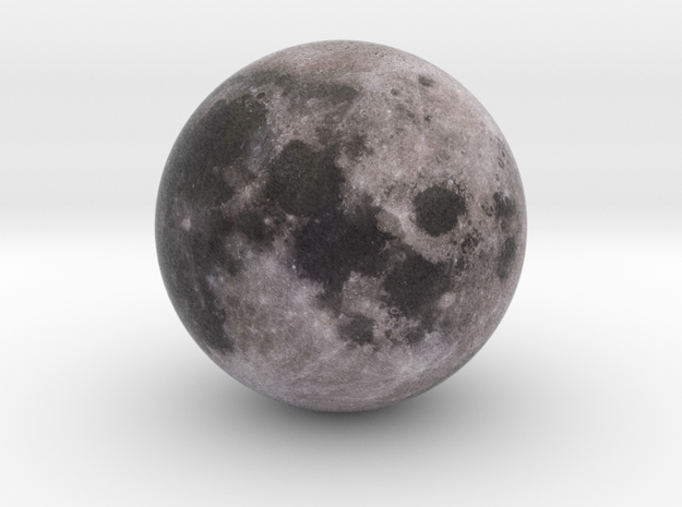Moon 1:250 million in Full Color Sandstone