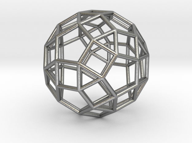 Rhombicosidodecahedron Silver