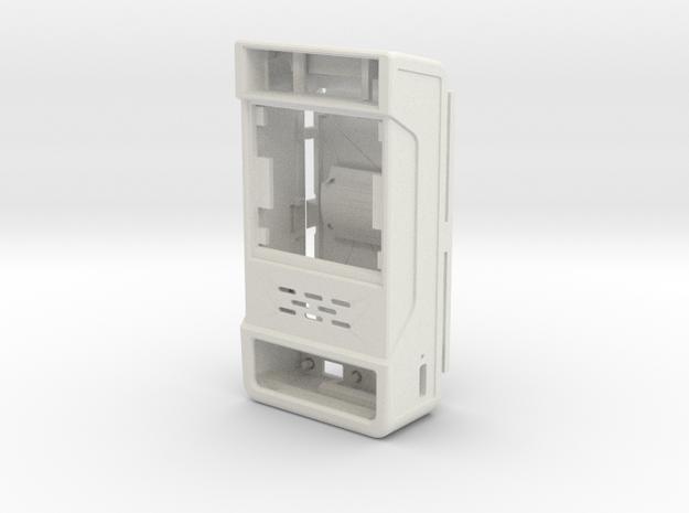 Tiny Arcade MOD case in White Natural Versatile Plastic