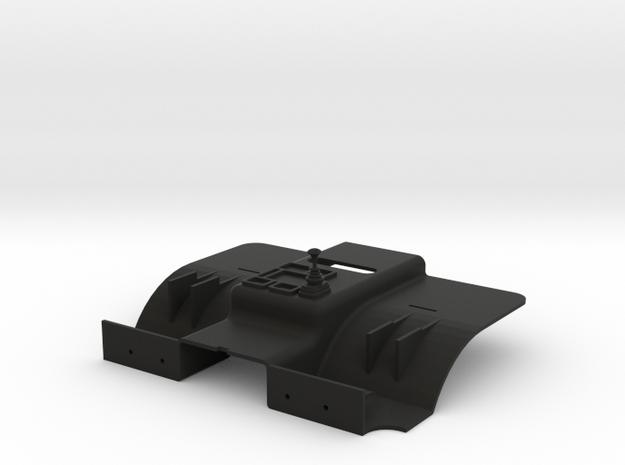 1:14 Tamiya Mercedes 1838 / 1850 Interior in Black Natural Versatile Plastic