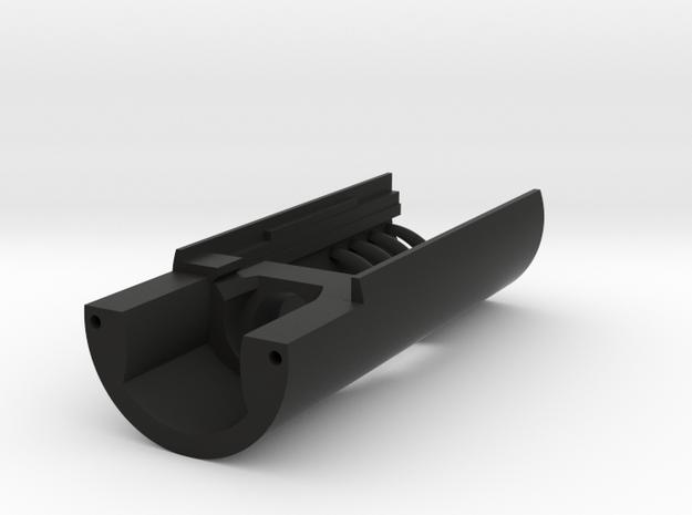 "Modular Chassis: CF9 / 2.1mm SC RCP: 0.99"" in Black Natural Versatile Plastic"