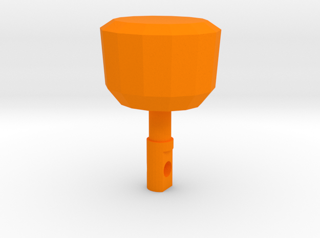 TF2 Cleaner's Carbine Charging Handle for MP5 in Orange Processed Versatile Plastic