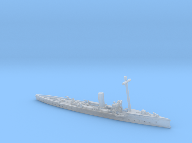 SMS Satellit EV 1/1250 (with mast) in Smooth Fine Detail Plastic