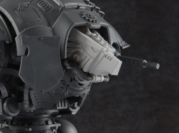 Custodian Guard - Eagle Head in Smooth Fine Detail Plastic
