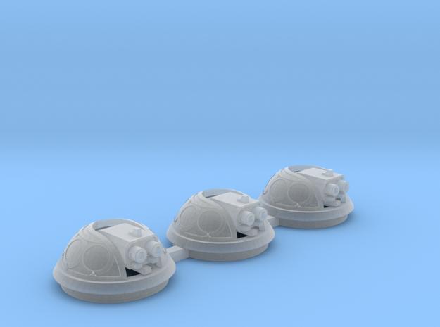 Bubble Canopy Gun Fleur de Lis - 3 Pack